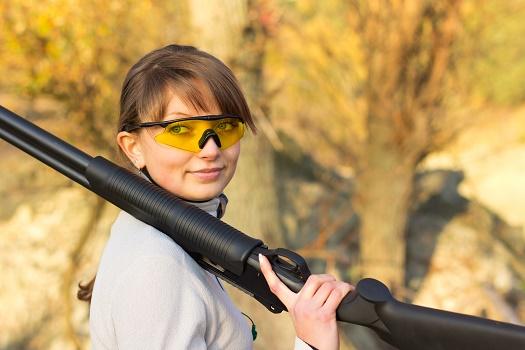 girl sheet shooting clear shot